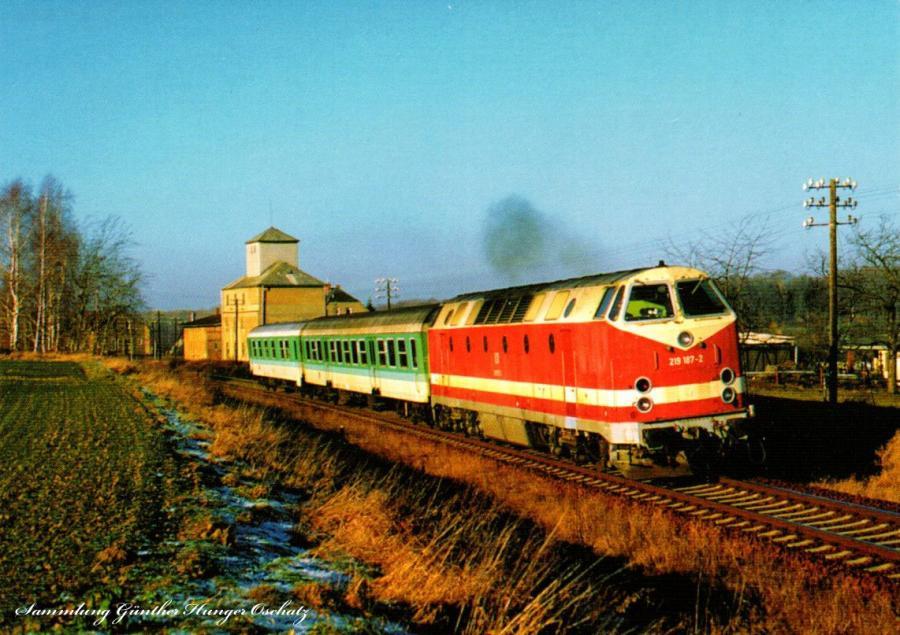 Diesellokomotive 219 187