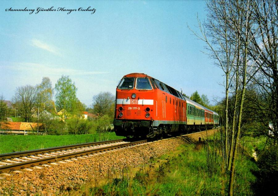 Diesellokomotive 219 177