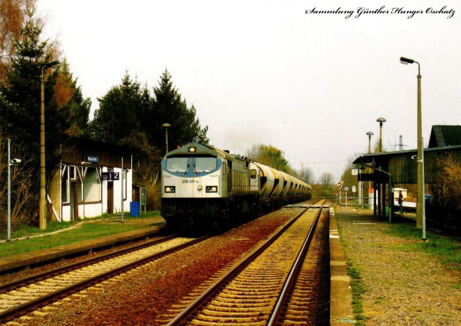 OHE-Diesellokomotive 250 011