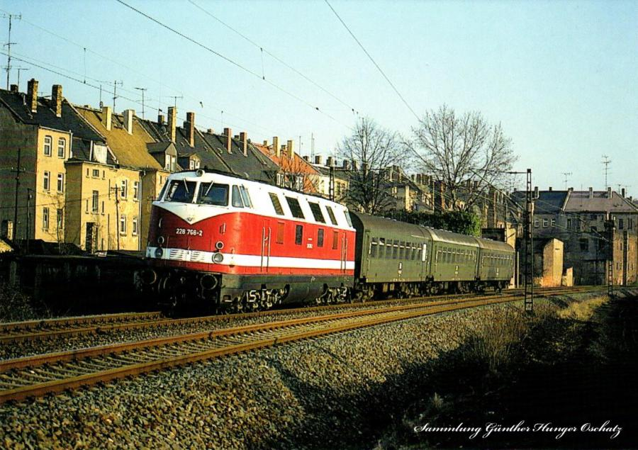 Diesellokomotive 228 766