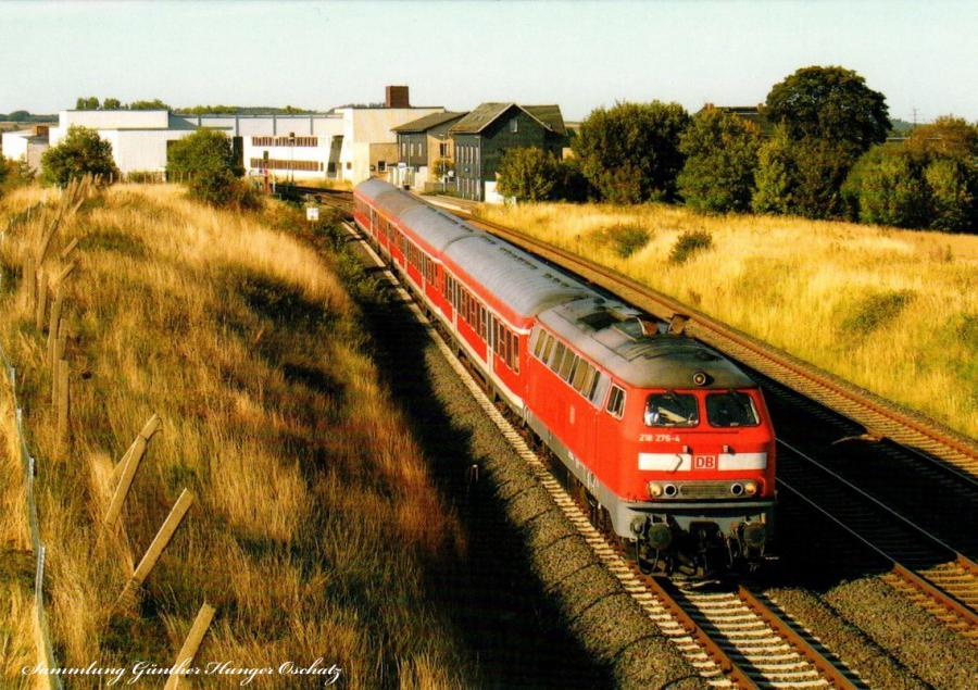 Diesellokomotive 218 276
