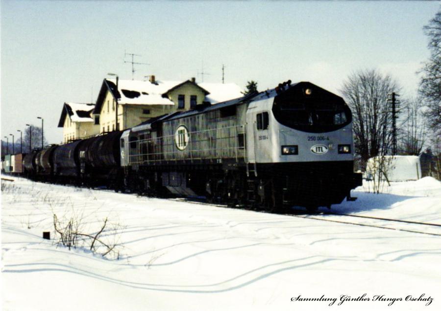 Diesellokomotive 250 006 (ITL)