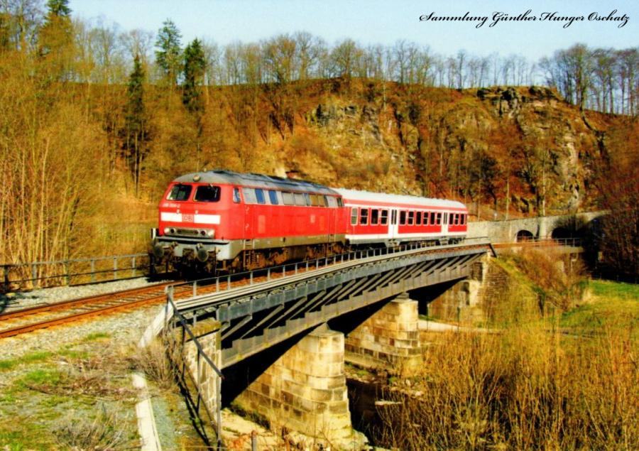 Diesellokomotive 218 324