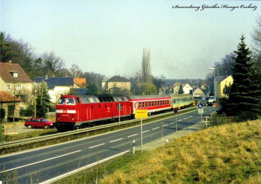 Diesellokomotive 219 037