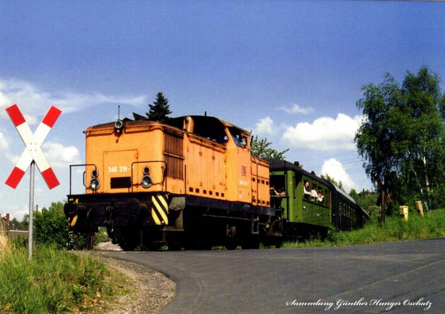 Diesellokomotive 346 319