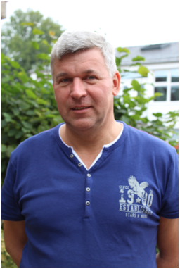 Dietmar Kiekhöfer unser Hausmeister