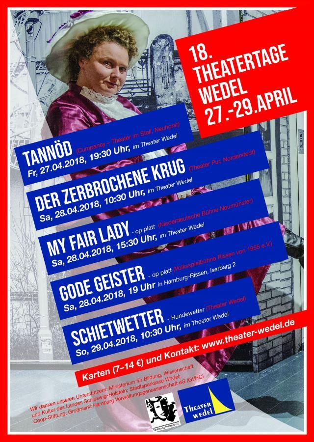 Thetartage Wedel Plakat