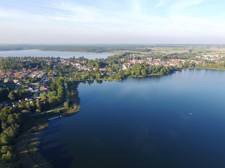 Luftaufnahme Seen