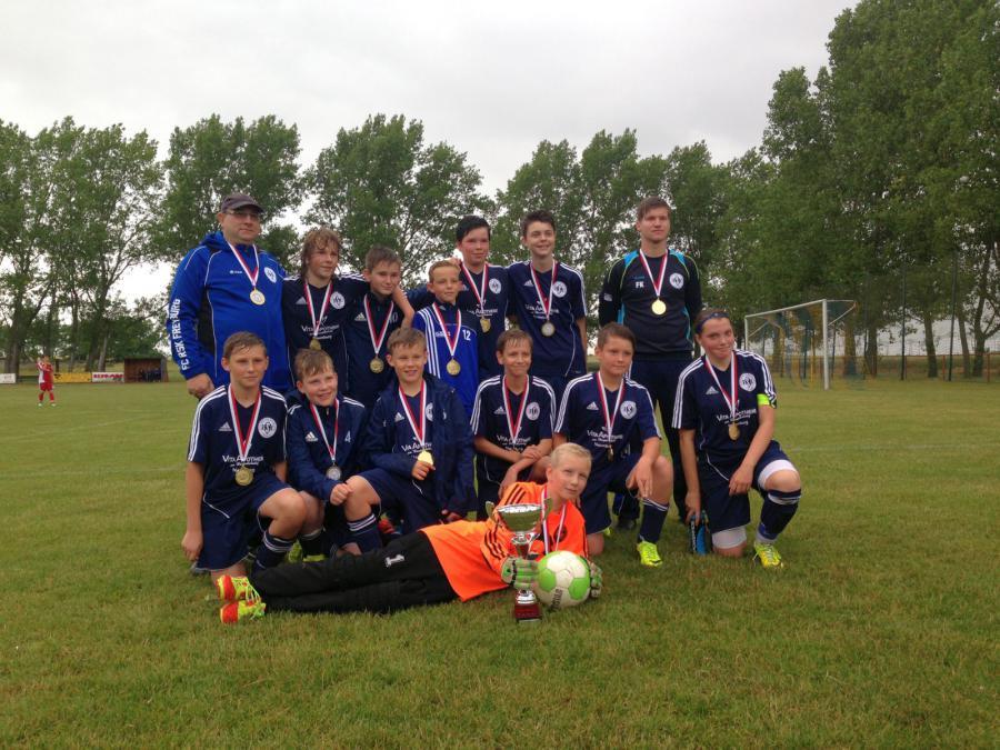 D-Junioren-Kreispokalsieger 2014