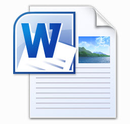 Word-Dokument Icon zum Download