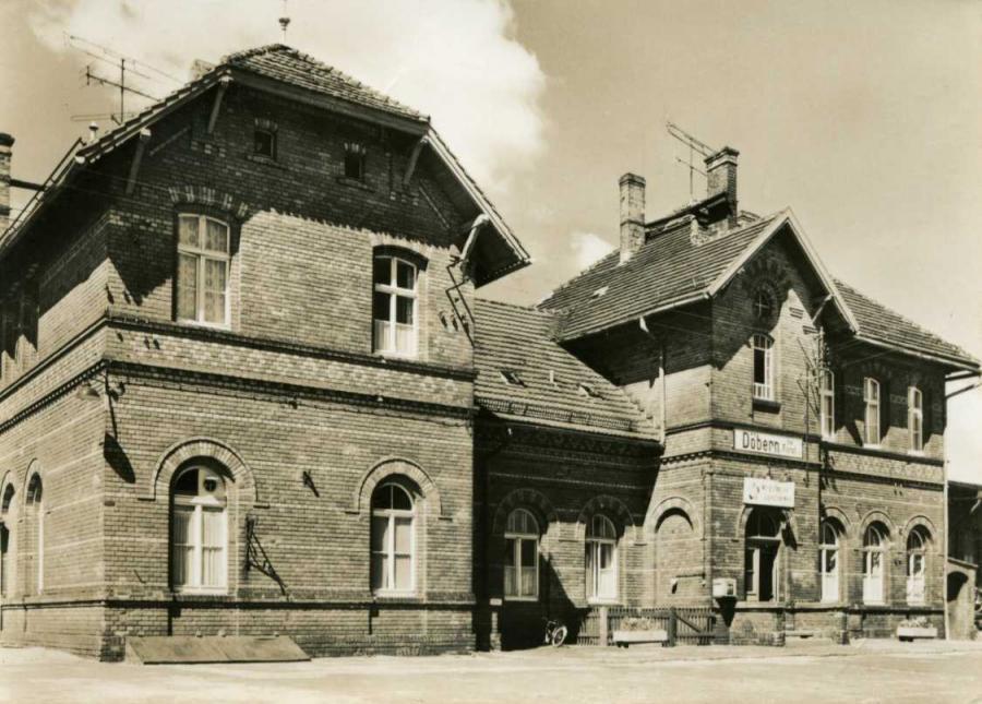 Döbern Krs. Forst Bahnhof