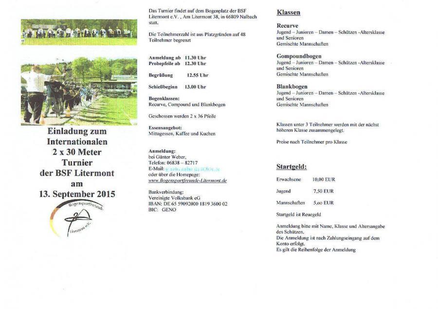 Turnier Nalbach 09/2015