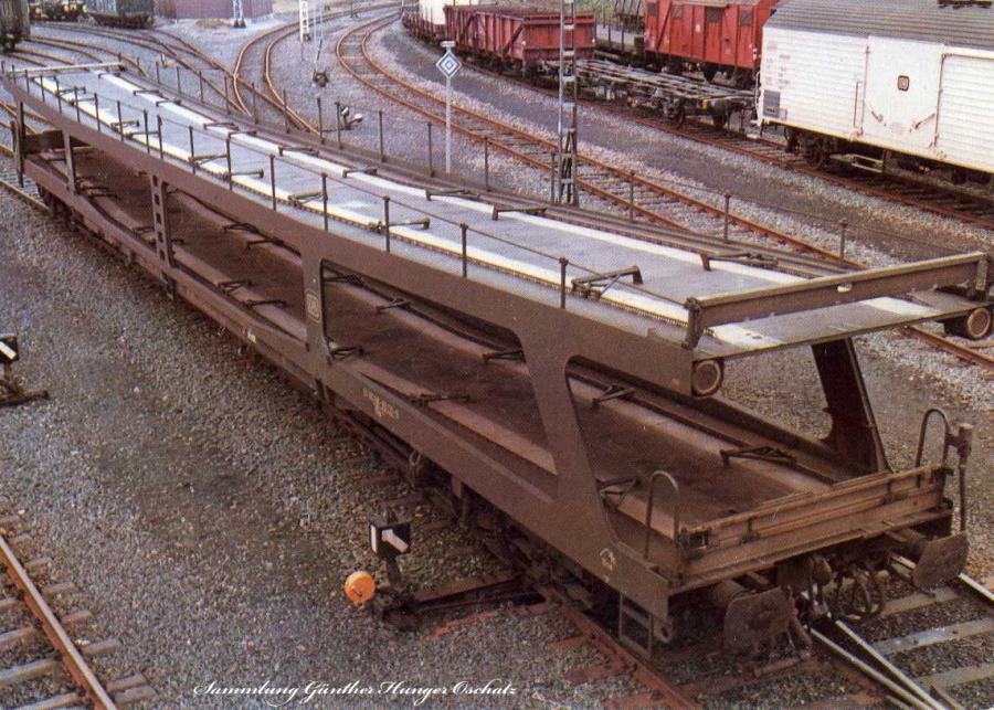 Doppelstockwagen für den Autotransport