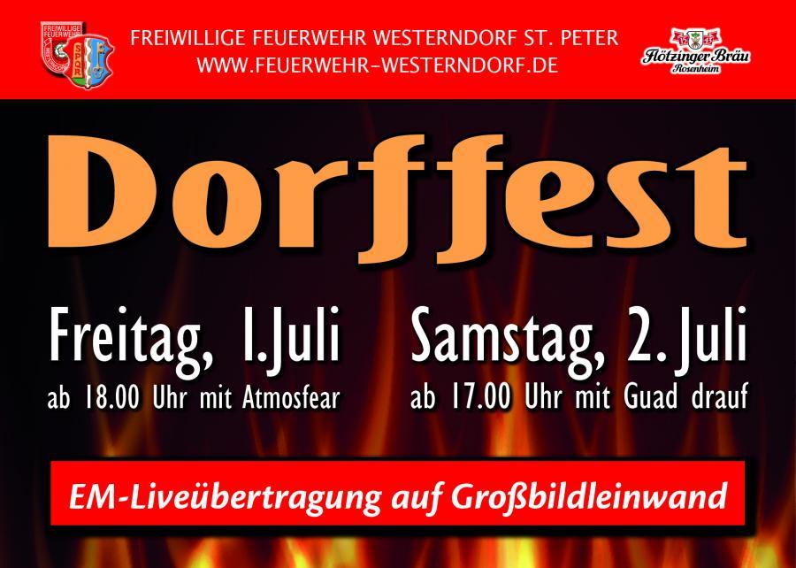 Dorffest Feuerwehr Westerndorf St.Peter