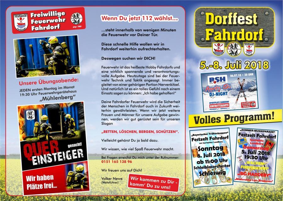 Dorffest Fahrdorf