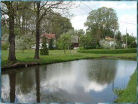 Dorfidylle im Frühjahr