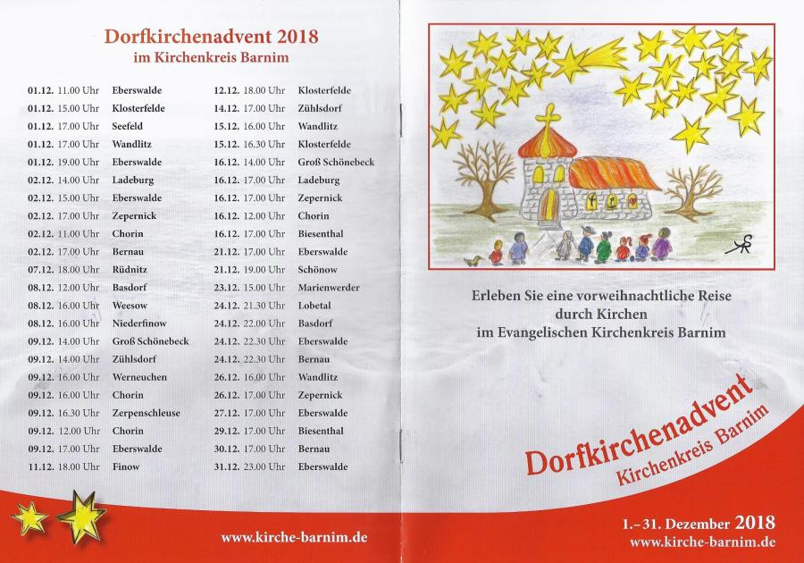Dorfkirchenadvent 2018