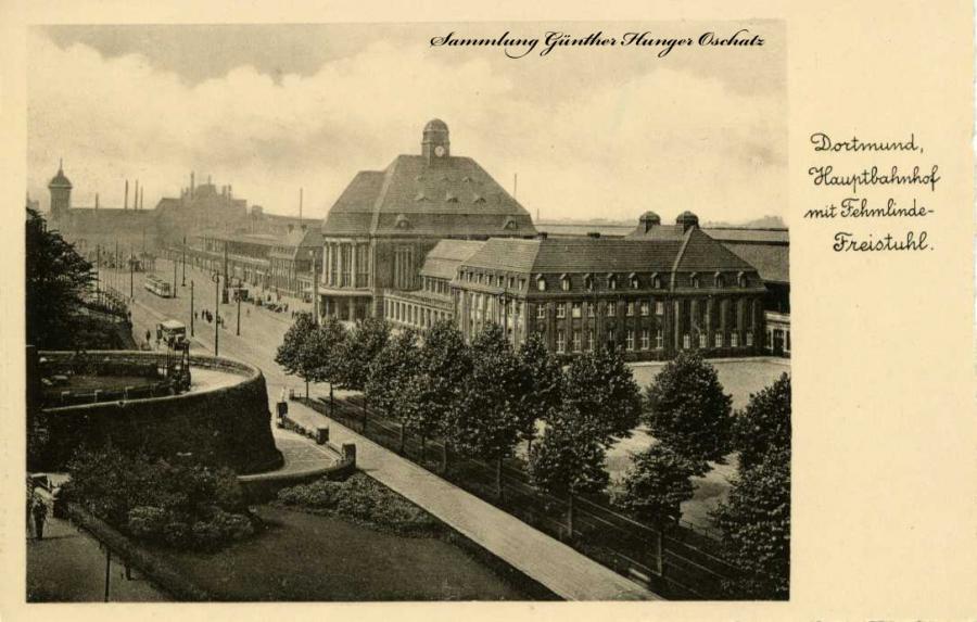 Dortmund Hauptbahnhof mit Fehmlinde-Freistuhl