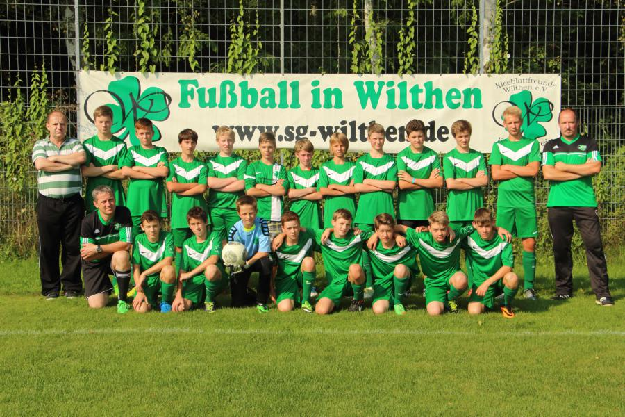 Saisonbild 2014/2015 C-Jugend
