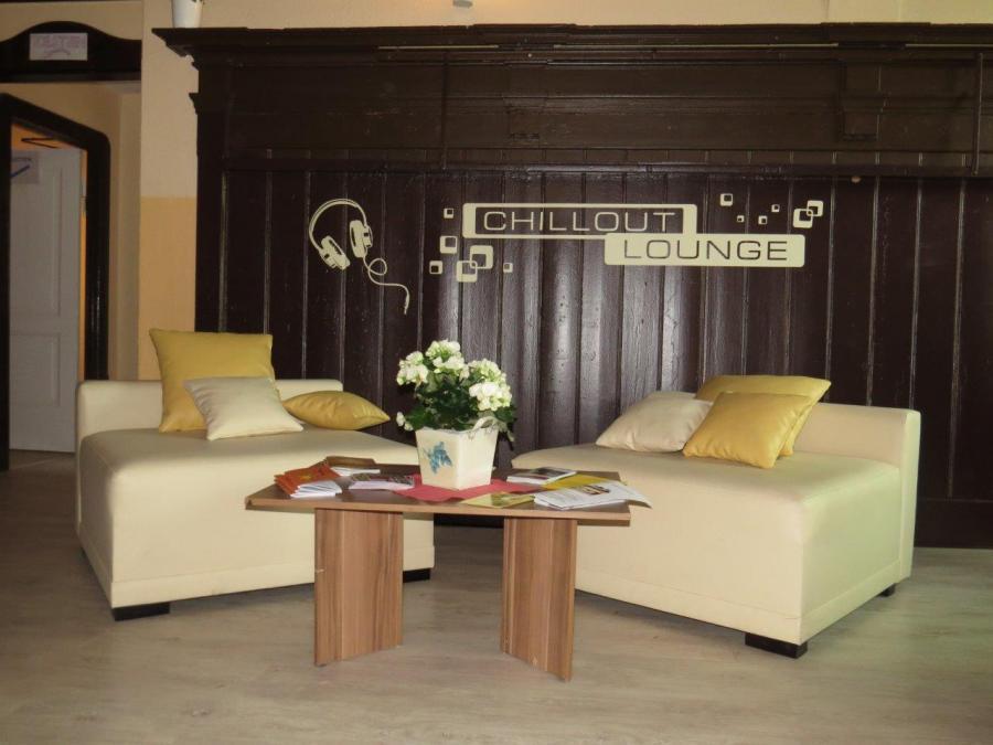 Lounge im Innenbereich