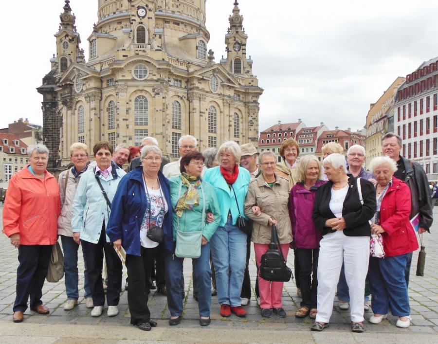 ..vor der Frauenkirche