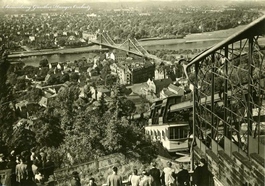Dresden Blick auf Loschwitz und Blasewitz