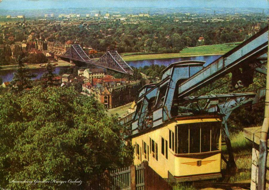 Dresden Blick von der Loschwitzhöhe