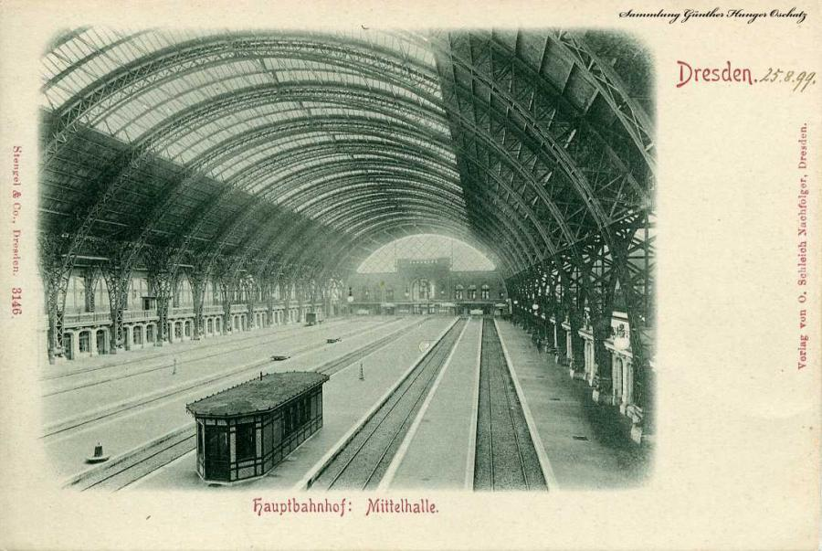 Dresden Hauptbahnhof Mittelhalle