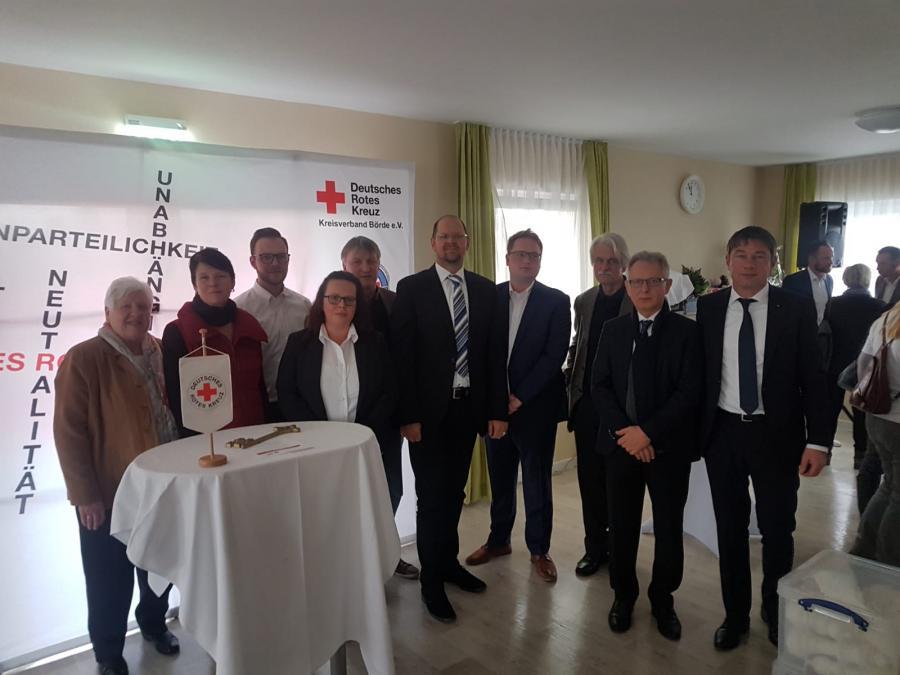 "Feierliche Eröffnung-DRK Wohnquartier ""Am Stürholzgarten"" Oebisfelde 29.11.2018"