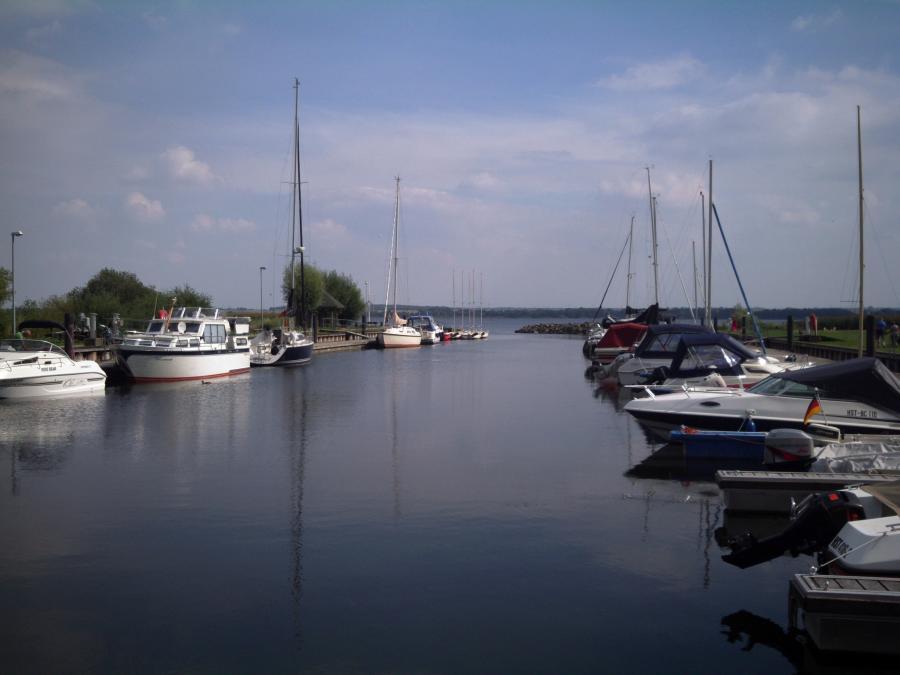 Der Salemer Hafen