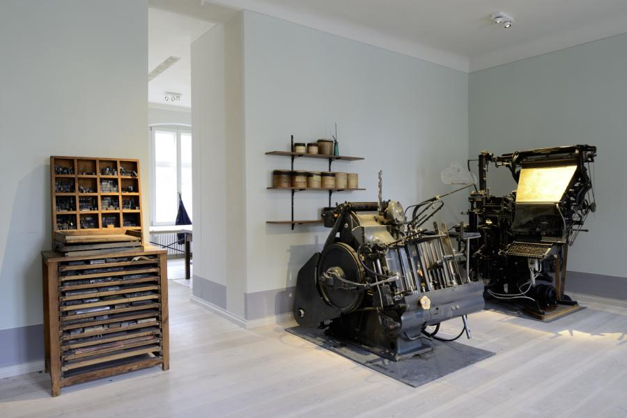 Blick in die Letternwerkstatt | Foto: Kienzle|Oberhammer