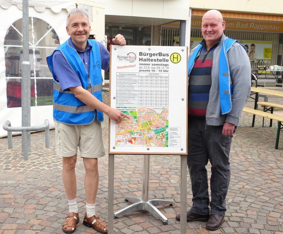 Herr Ries-Müller und Herr Jänichen