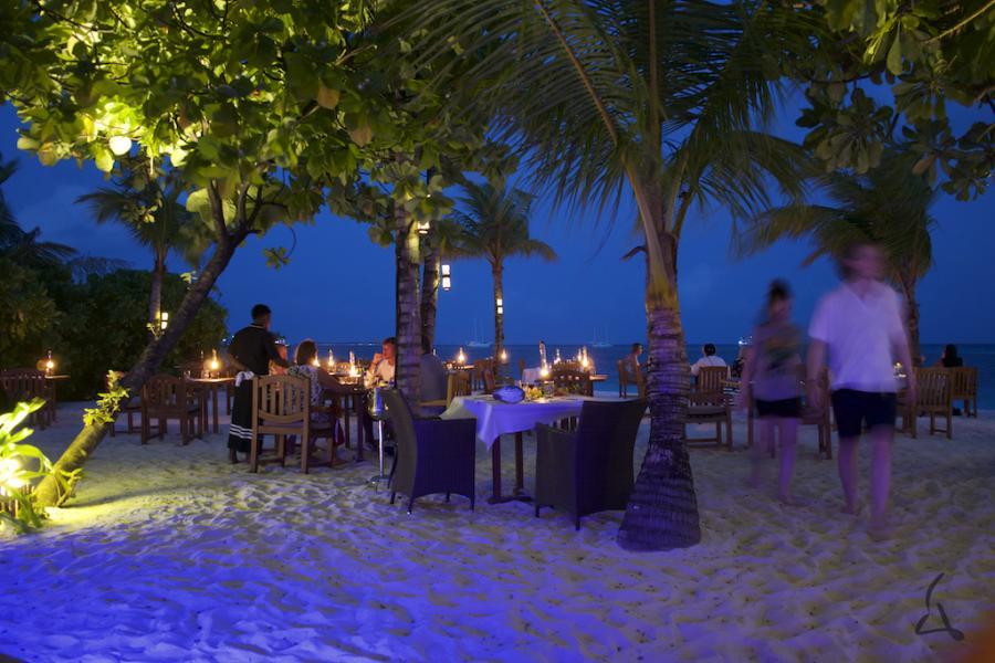 Malediven Seeblick
