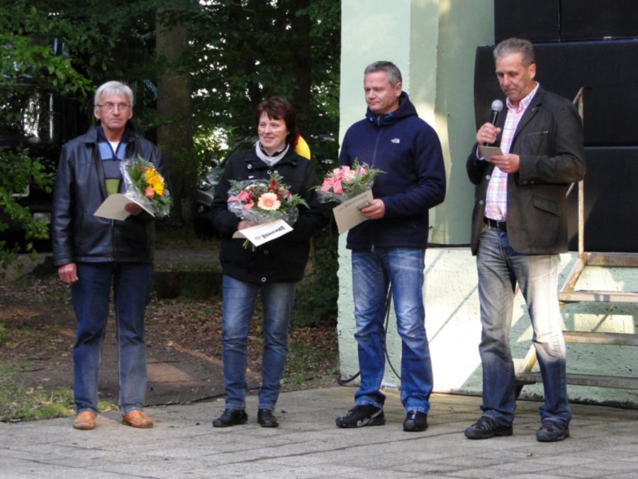 Auszeichnung zum Stadt- und Vereinsfest am 21.6.2014