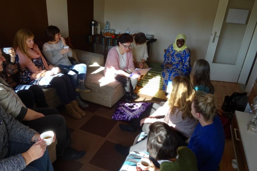 Foto: Weltreise durchs Wohnzimmer nach Gambia, Fotorechte: Maintal Aktiv - Freiwilligenagentur