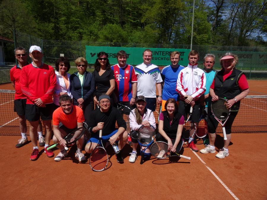 Tennis-Saisoneröffnung 2016