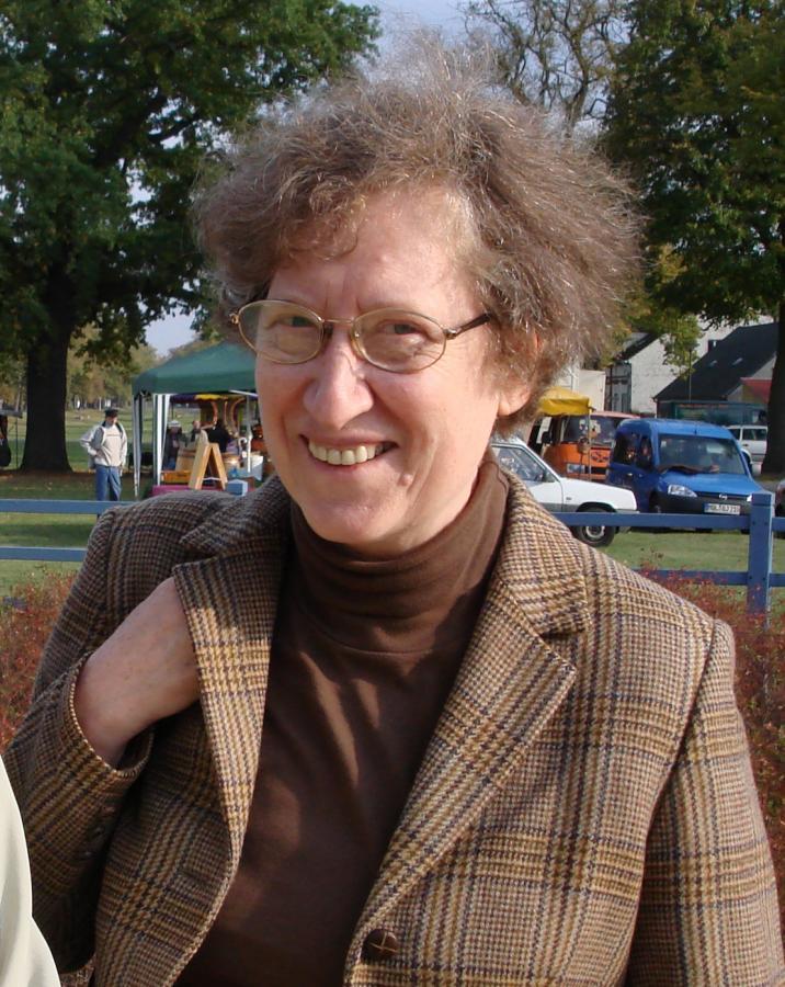 Adelheid Schendel, Foto E. Gruber