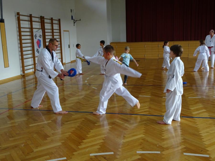 Taekwondo AG Herr Schier