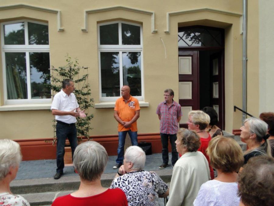Tag der offenen Tür in der Residenz Alte Schule am 7.8.2014 (1)