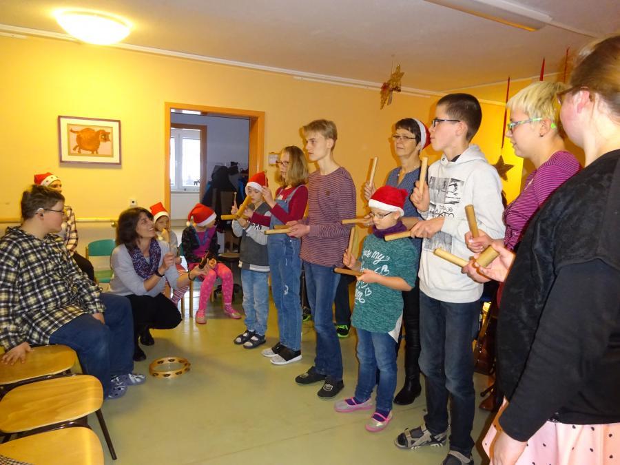 Vortrag der Singegruppe