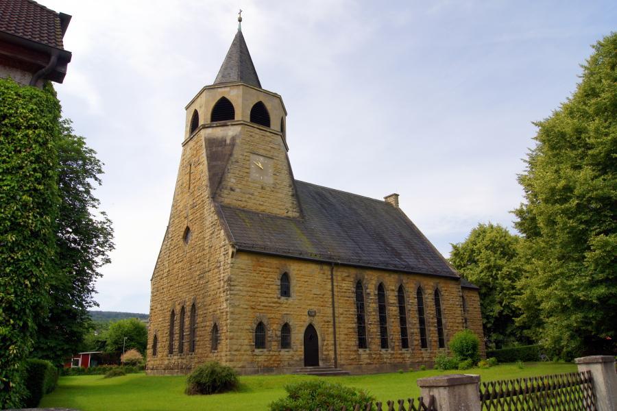 Kirche Merkers