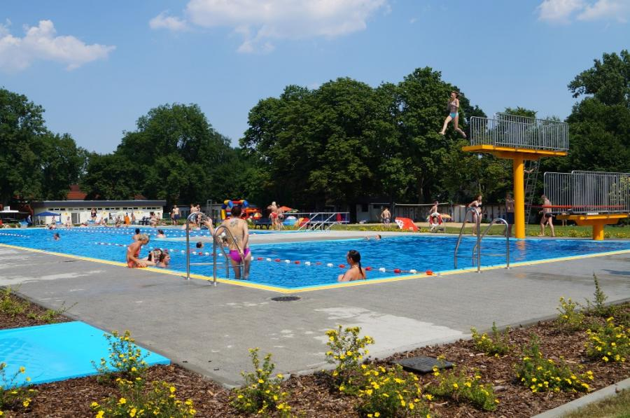 Schwimmerbecken Freibad Dahme