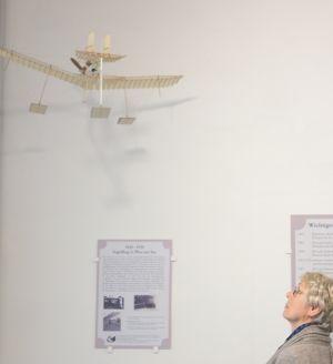 Wasserflugzeug-Modell