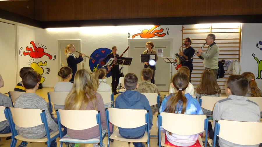 Musiker in der Schule1