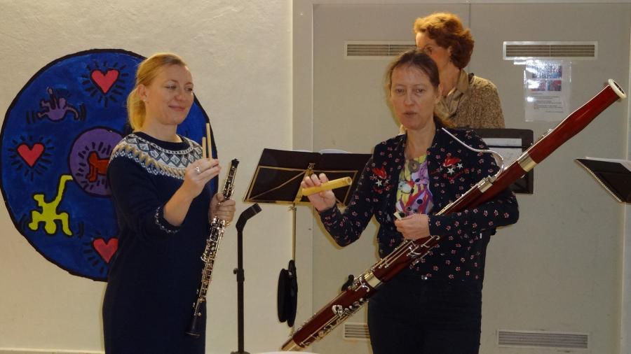 Musiker in der Schule2
