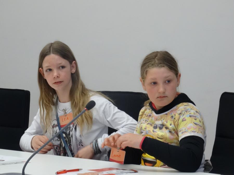 Landtag Klasse 6a 2017