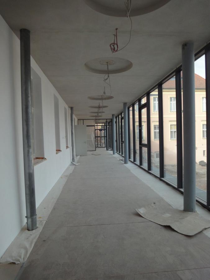 Foyer im Westflügel