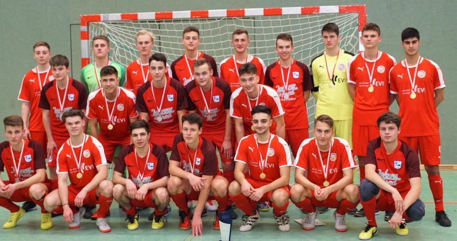 A-Junioren - Futsal Meister und Vizemeister 2019