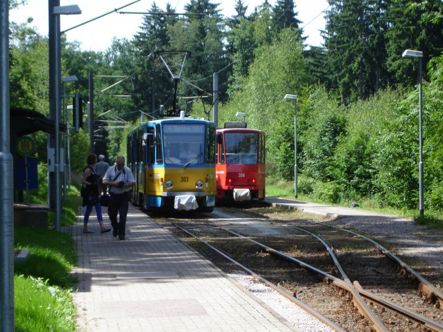 Haltestelle Thüringerwaldbahn