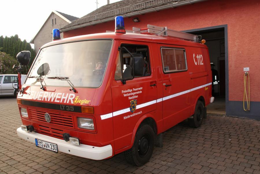 Fahrzeug der Freiwilligen Feuerwehr Niederwallmenach